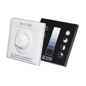 Dimmer Led UL CUL 100% Cina Supplier Dekorator Input 100-240VAC LED Dimmer Switch untuk Lampu Led