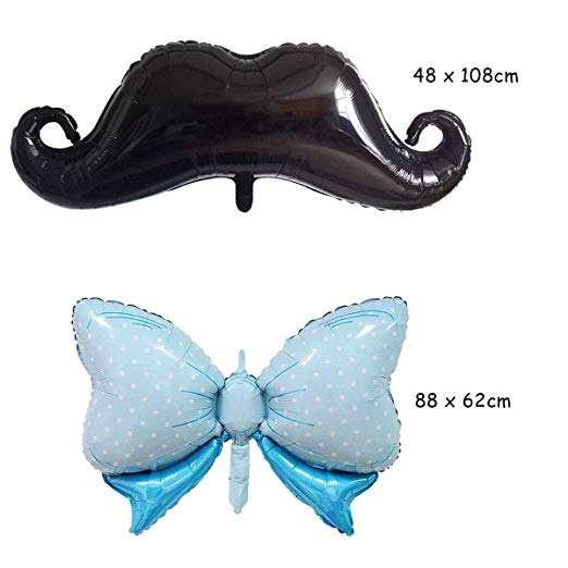 48X Costume Party Funny Fake False Moustache Stick On Tash Fancy Beard Quality