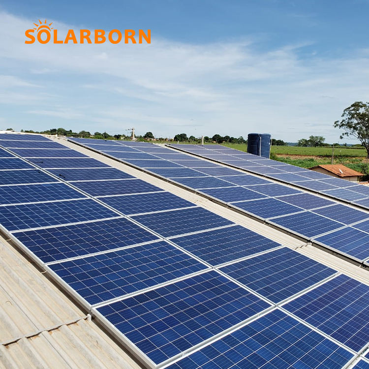 Solarborn china paneles solares solar panel 350 watt cell power price 200w 300W 400W 500W 1000w home solar panels manufacturer