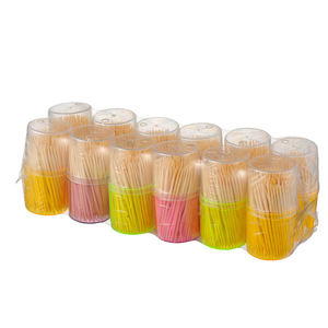 Kanmine factory Disposable bamboo toothpick chinese tooth pick stick