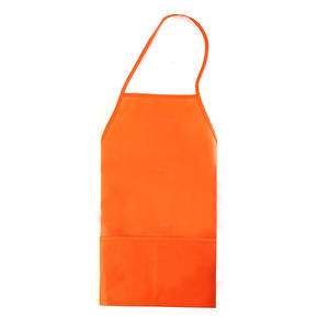 Non Woven Fabric Sleeveless Cheap Printed Kitchen Aprons Sale