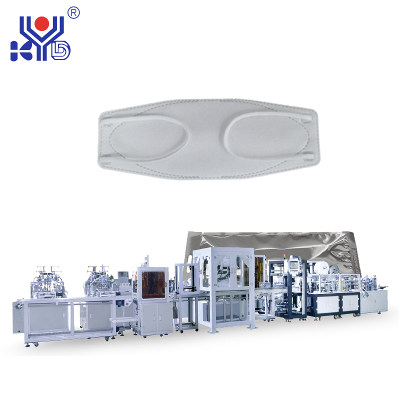 New Automatic CCD Inspection Fish Type Mask Production Line with Packing Function Machine