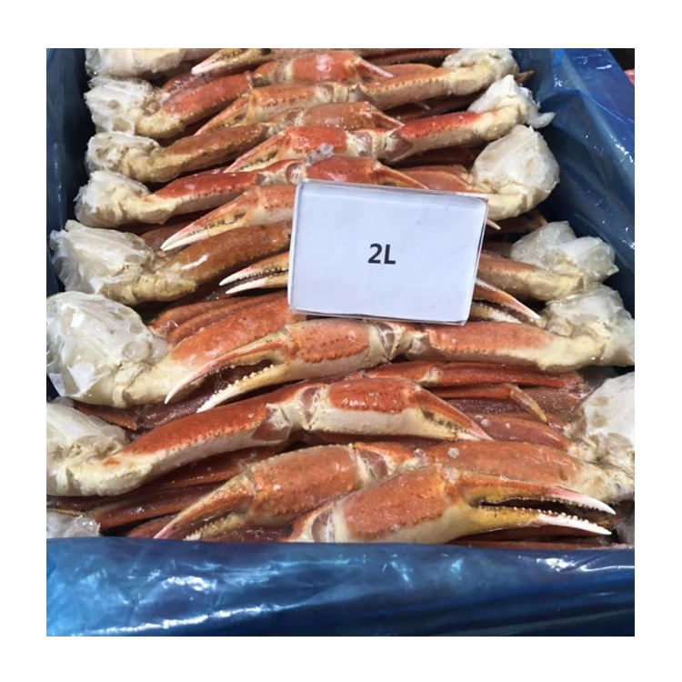 Fresh frozen cooked snow crab cluster