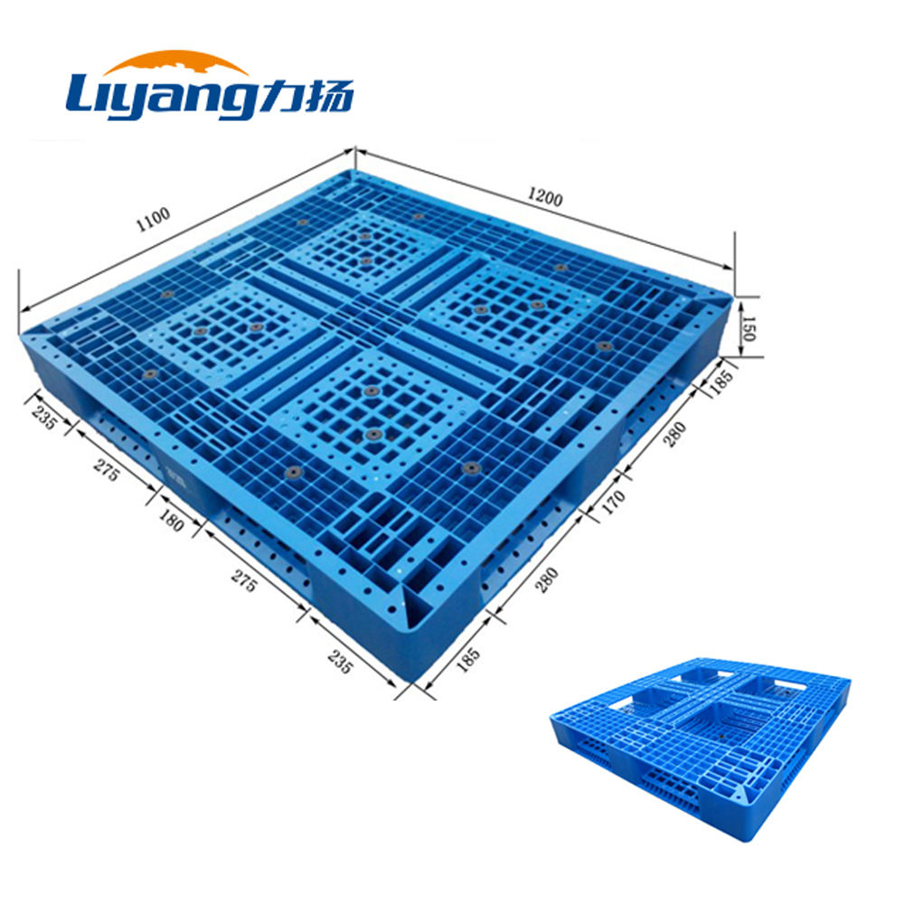 Plastic Pallet For Export Double Face 6 Runner Plastic Pallet For Australia