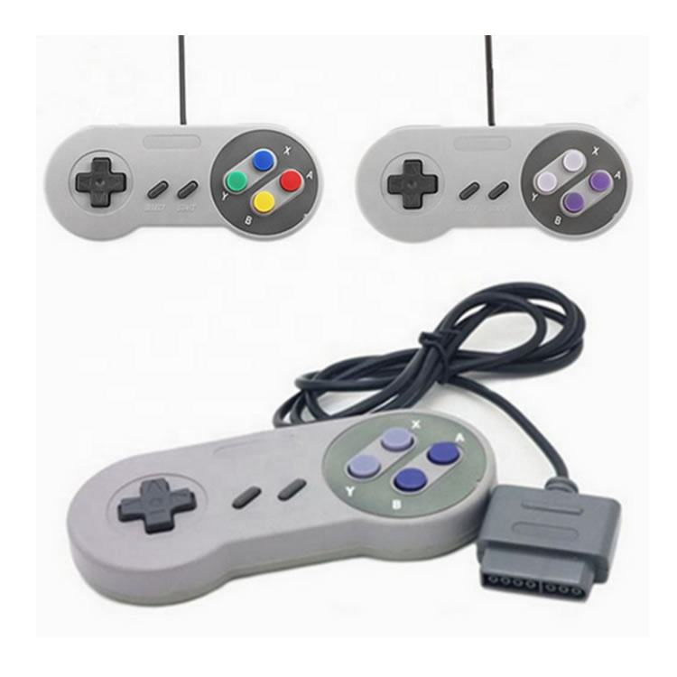 New 16 Bit Controller for Super Nintendo SNES System Console Control Pad Gamepad
