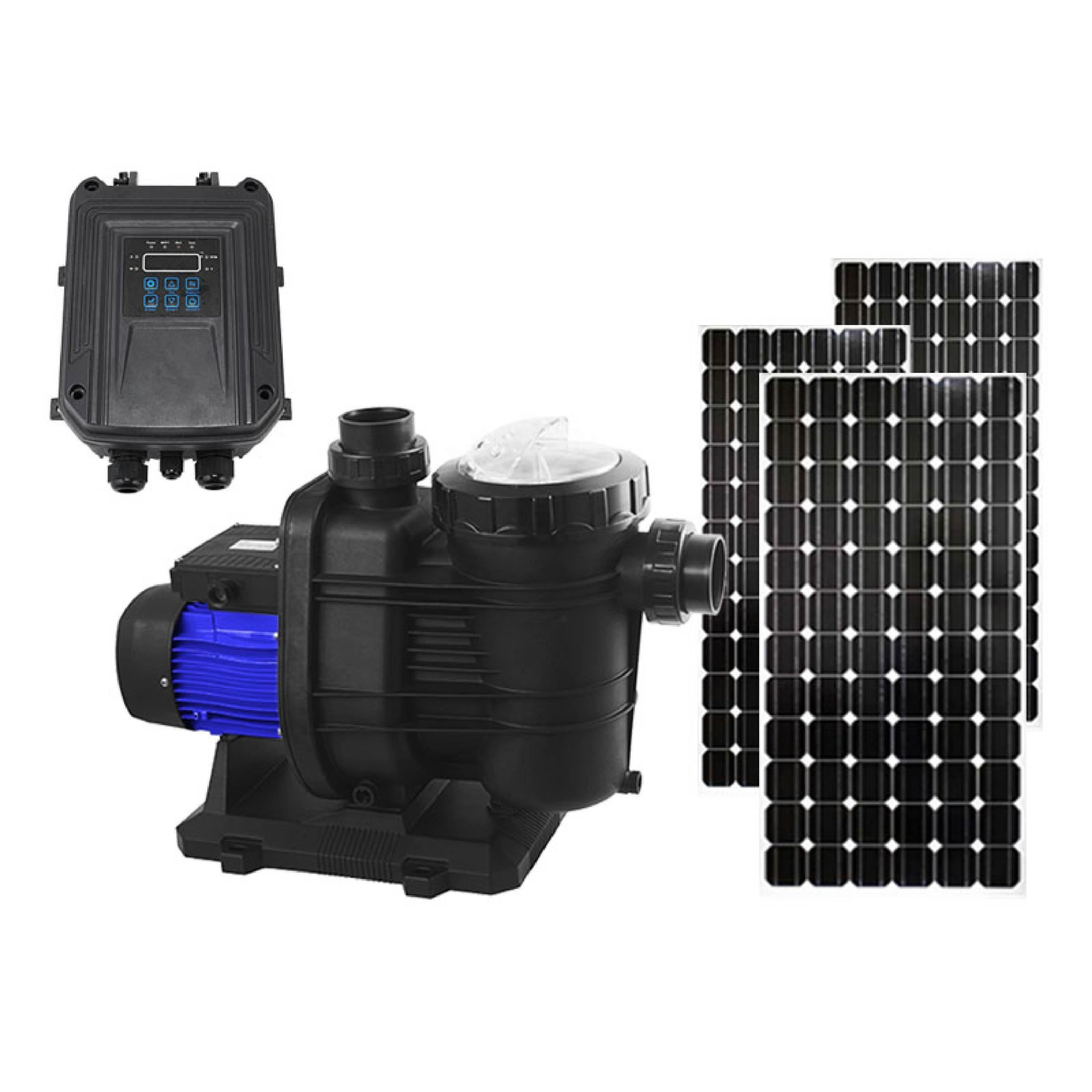 hot sale solar dc powered swimming pool pumps high quantity solar powered above ground pool pump kit system for sale