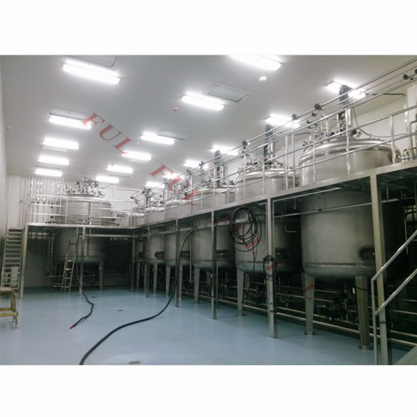 Pressure VESSEL Inactivated Tank Inactivated Emulsification Inactivated Purification Tank200l~20000l Provided 1 YEAR PLC