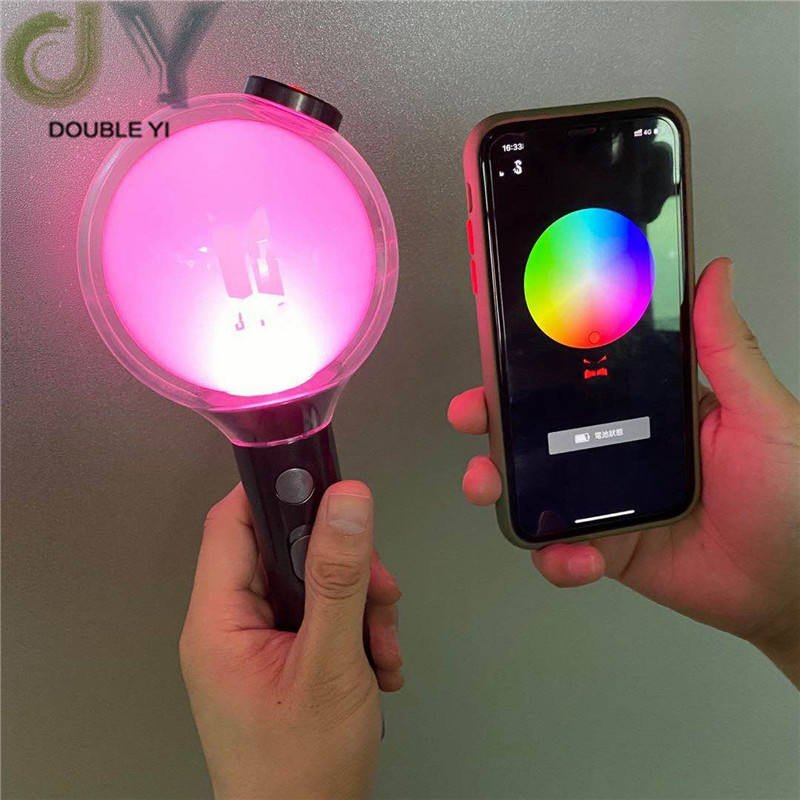 Wholesale LED f Bts Light Glow Stick with App Bluetooth Map Of The Soul