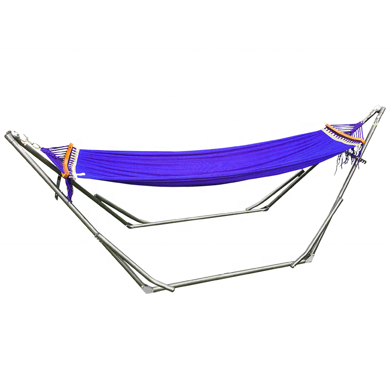 Double Hammock With Space Saving Steel Stand Include Carrying Case