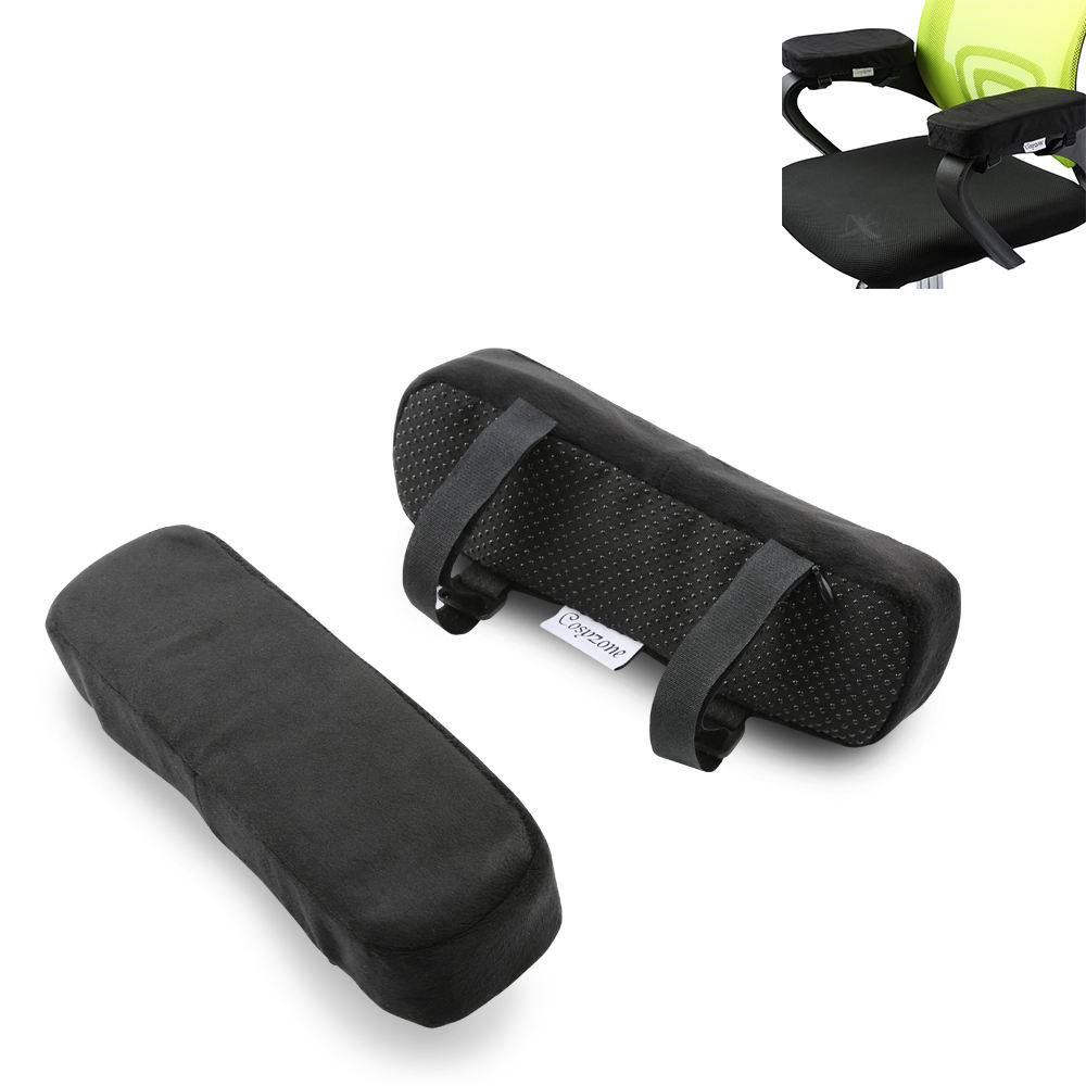 Universal Ergonomic Soft Washable Car Office Chair Armrest Cushion Arm Rest Pads