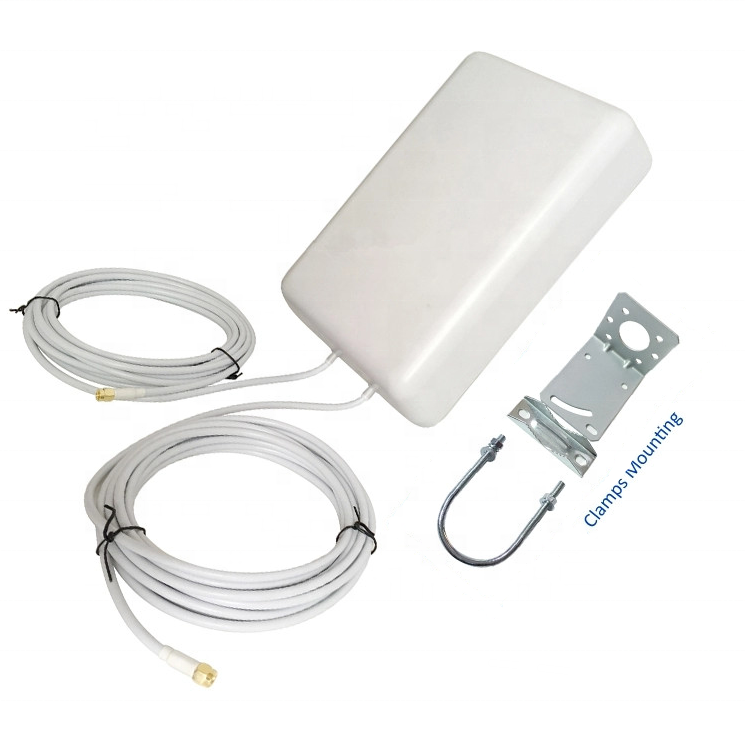 700-2700 MHz Outdoor 4G LTE MIMO Flat Panel Dual Polarization Antenna