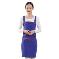 High quality custom promotion print wholesale adults barber kitchen cooking women and mens apron