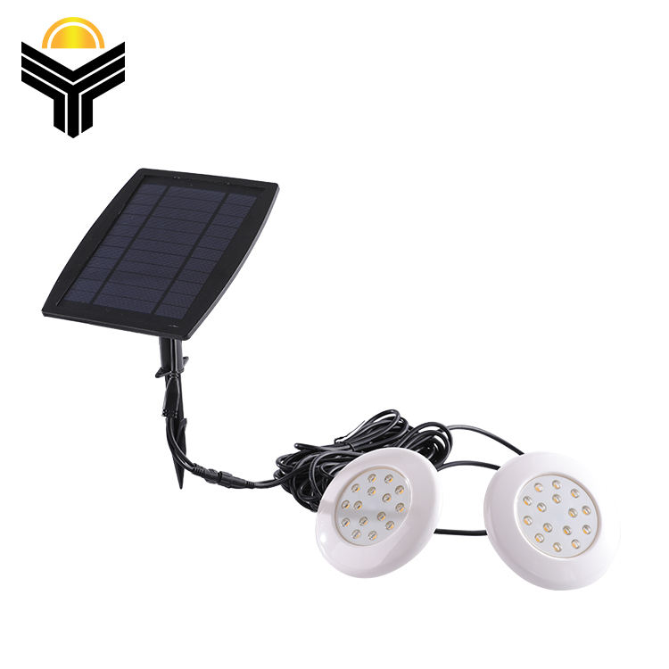 High Brightness outdoor swimming pool waterproof ip65 rgb solar led underwater light