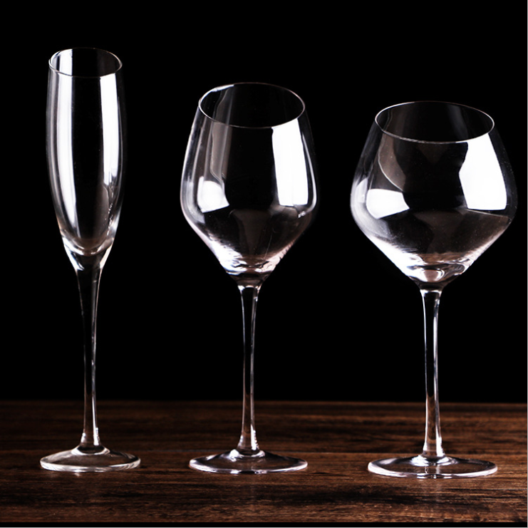 Europe Style Great Capacity Crystal Wine Glass Champagne Goblet Home Drinking Ware