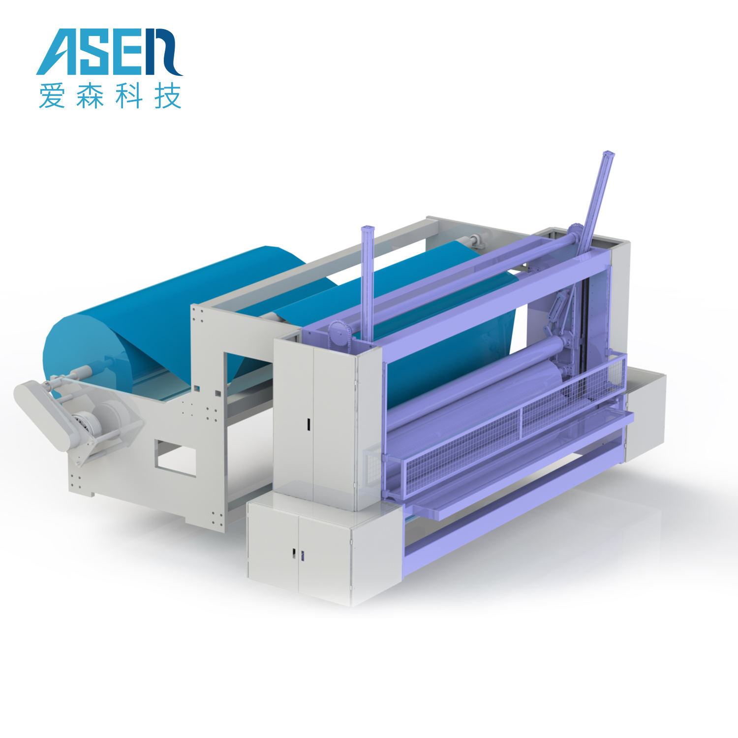 Equipment For Cutting And Rewinding Machine Nonwoven Fabric Cutting Machine For Sms Slitter And Cutting Nonwoven Machine