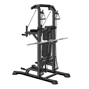 China Factory Verkoop Power Tower Workout Dip Station Met Sit Up Bench Home Gym Pull Up Dip Station Pull Up bar Dip Stand