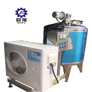 Essentials for Dairy Plants industrial chiller milk cooling tank processing machinery 1000 l