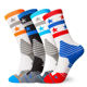High Quality Elite Sports Socks for Basketball Riding Crew Thick Terry Towel Socks Men and Women Custom Size