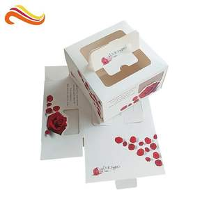 Bestyle Wholesale Custom Paper Gift Box Printed Packaging for Cake box