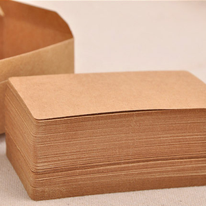 Kraft Paper Message Memo Wedding Party Thank You Card Label Bookmark Learning Card Memo Word Card