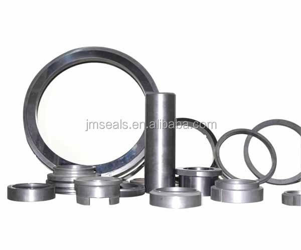 OEM Sintered Silicon Carbide Shaft Seal Ring with laser etching groove