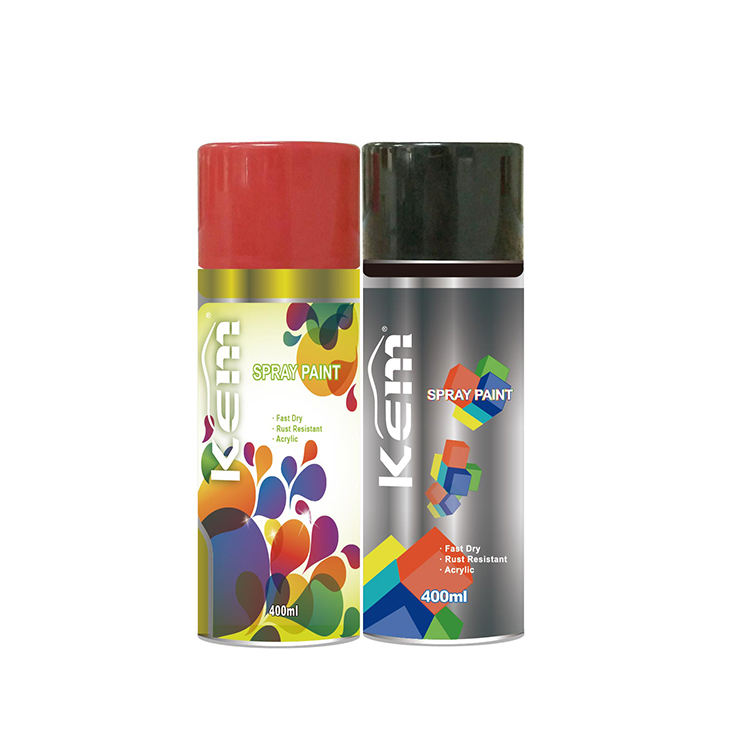 High quality cheap color acrylic aerosol paint sample car graffiti spray paint