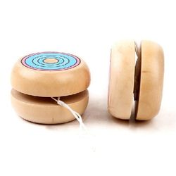 Classic Wooden YoYo,Kids Playing Yoyo