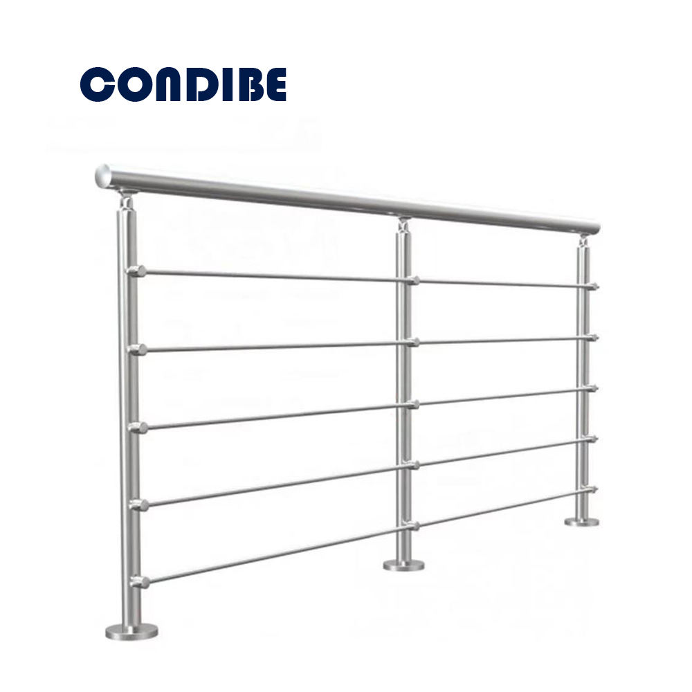Condibe fancy balcony stainless steel railing design