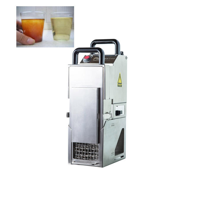 Automatic Oil Cleaning Equipment Cooking Oil Filter Machine