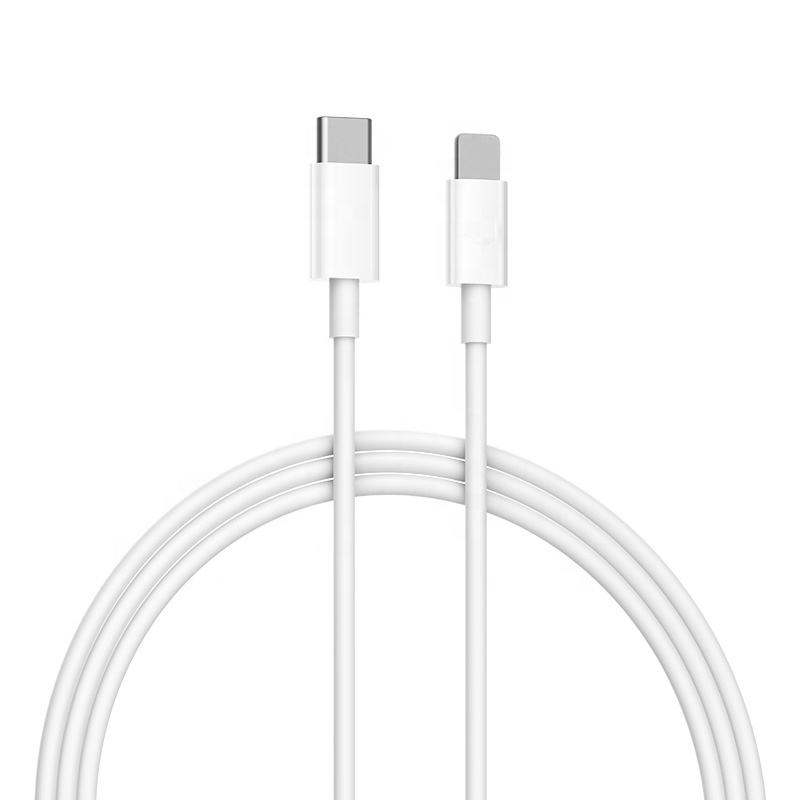 ZMD high quality 1m PD 18W 3A fast charge for lightning to USB-C Type-c cable