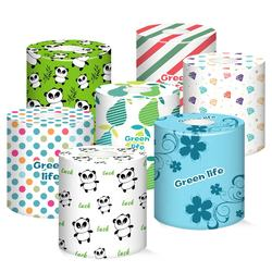 Christmas gift box package toilet paper, facial tissue, pocket tissue
