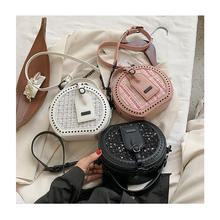 Winter NEW Fashion Crossbody Shoulder Bag For Women 2020 Luxury Handbags Women Bags Designer Tweed Tote Bag mini Round Handbags