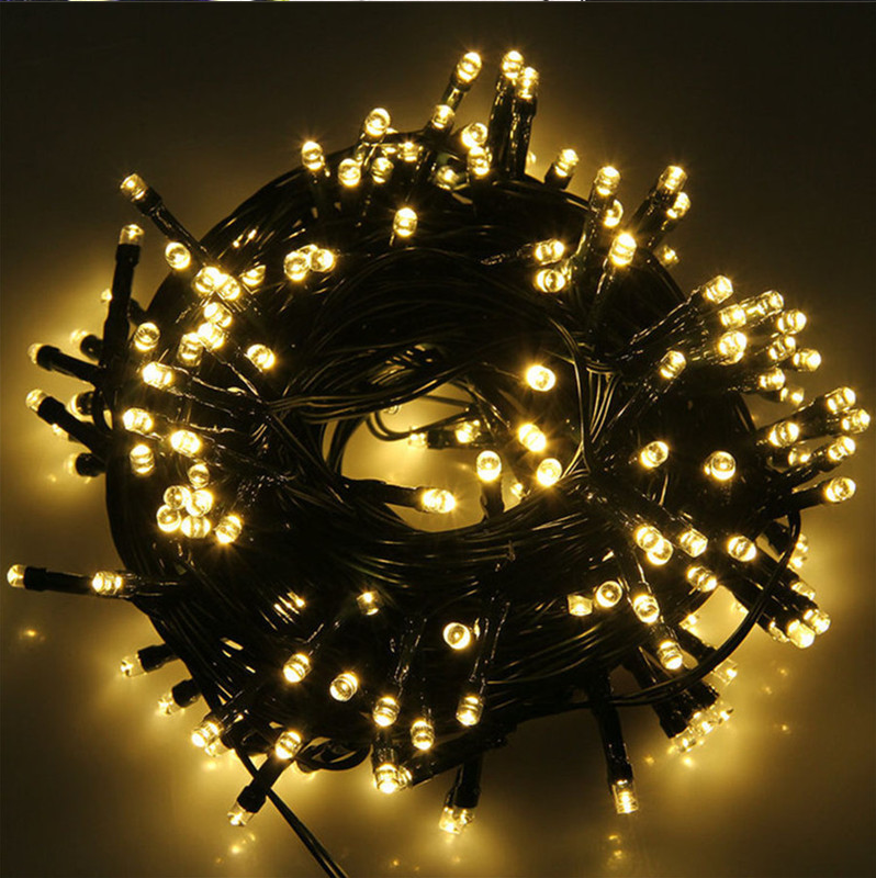 luces navidad diwali luminous led fairy light decorative christmas starry led firecracker cluster light