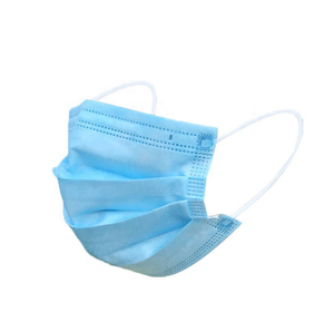 China wholesale medical disposable fabric 3 ply earloop face mask