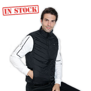 Outdoor Control Temperature Washable USB Charging Heated Winter Vest Waistcoat Warming Heated Clothes Vest