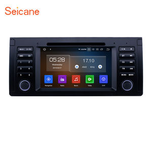 7 zoll Android 9.0 GPS Navigation Radio für 1996-2003 BMW 5 Serie E39 mit Bluetooth Wifi HD Touchscreen Carplay