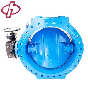 Large Size Double Eccentric Flange Wafer Butterfly Valve
