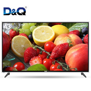 Full HD televisions with WIFI led tvs from China 4K smart tv 43 inch