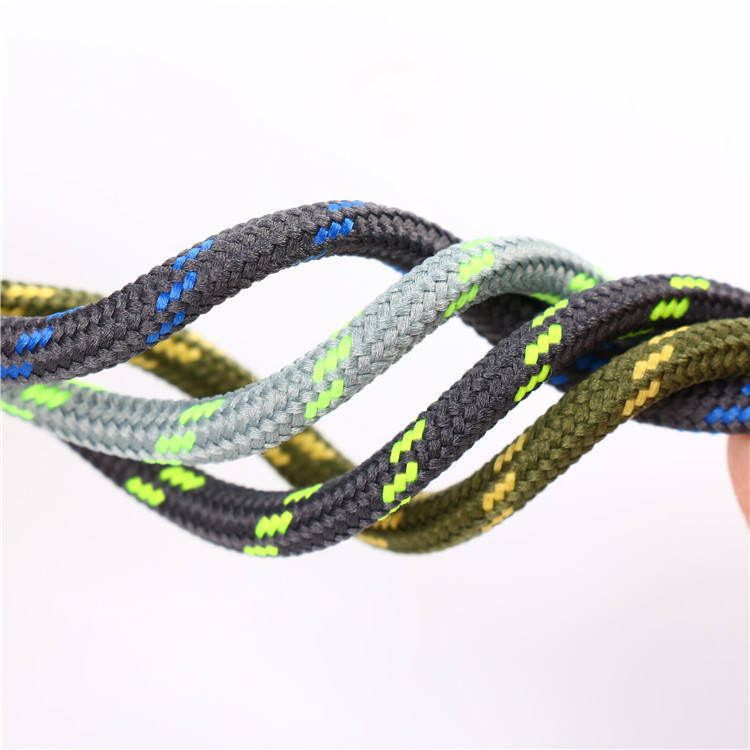 multi colored china supplier round shoelaces