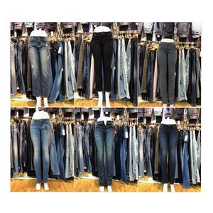 GZY overstock liquidation ladies jeans factory overruns slimming jeans surplus garments