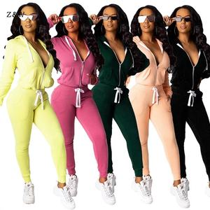 Two Set Tracksuit Women Clothing Fall Winter Tops Pant Sweat Suits 2 Piece Outfits Matching Sets Plus Size