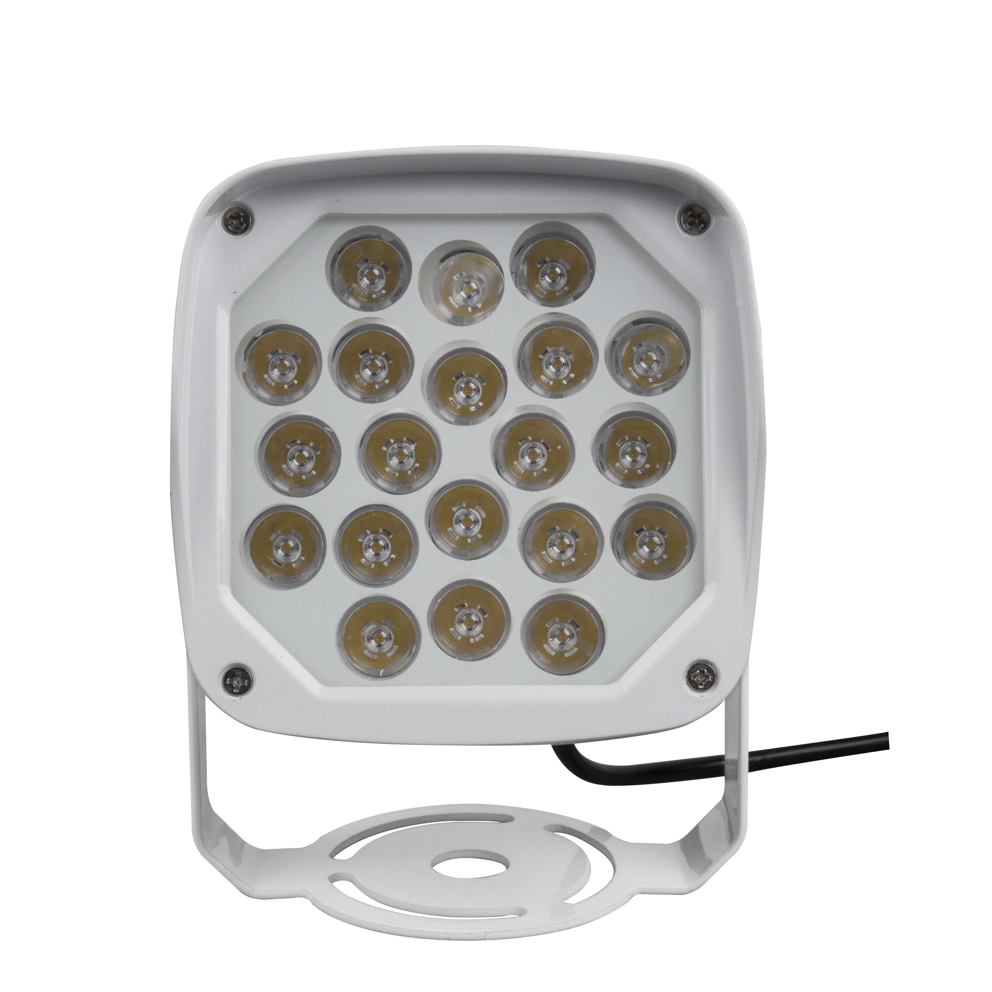 High-power 20w single color IP65 outdoor led spotlight with Multiple beam angles