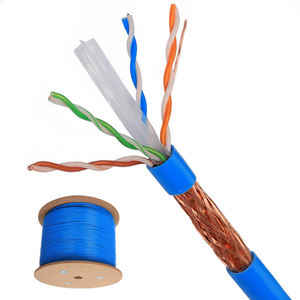 Factory direct sales optional color cat6 cat6a SFTP network cable