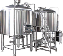 1000L Stainless Steel Beer Brewing Equipment Turnkey Project for Brewery Plant