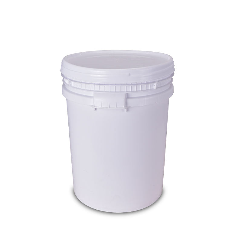 50 liter big capacity plastic bucket screw cap high-quality storage container for paper solid glue Transport bucket