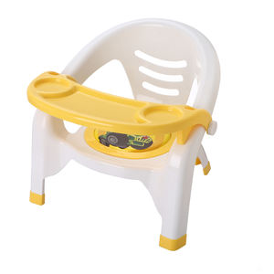 KID'S dining chair with dinner plate children seat can make a voice Coloful plastic baby chair mini seat for child