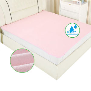 100% cotton Hypoallergenic waterproof baby mattress bed sheet crib mattress bed sheet