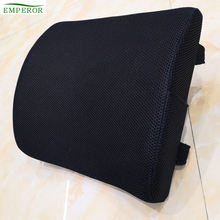 OEM factory wholesale AMAZON supplier Backrest support Pain Relief side pocket office chair memory foam seatbelt pillow waist