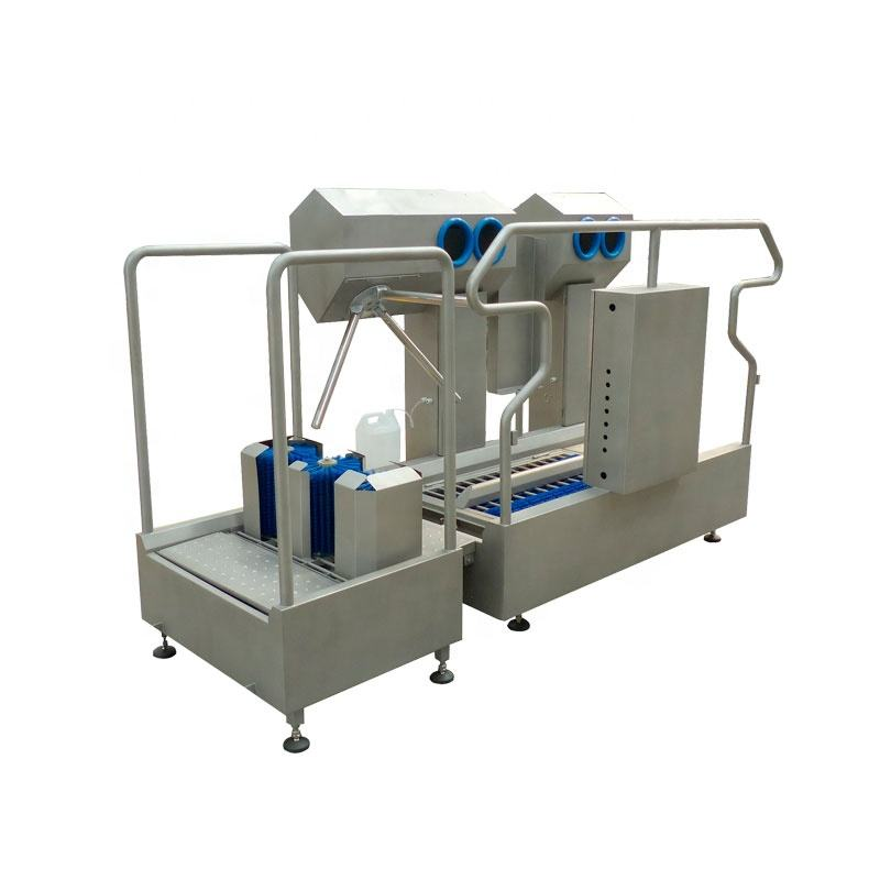 industrial Modular style Automatic hygiene cleaning station for food factory
