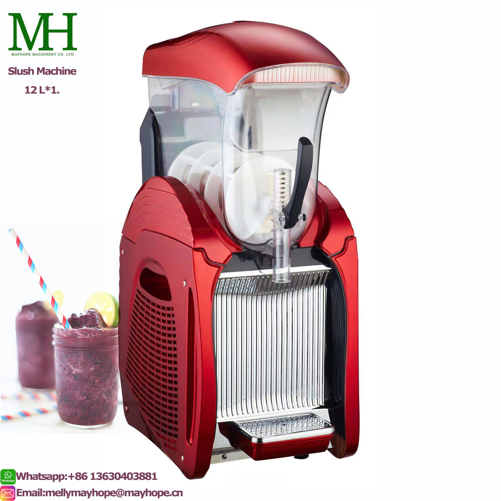 Commercial Daiquiri Machine Slush Granita/Slush/Margarita/Frozen Drinks Machine